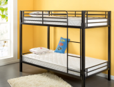 Best for Bunk Beds: Zinus 6-Inch Foam and Spring Twin Mattress Set